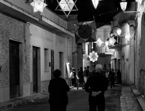 La festa dei lampioni a Calimera