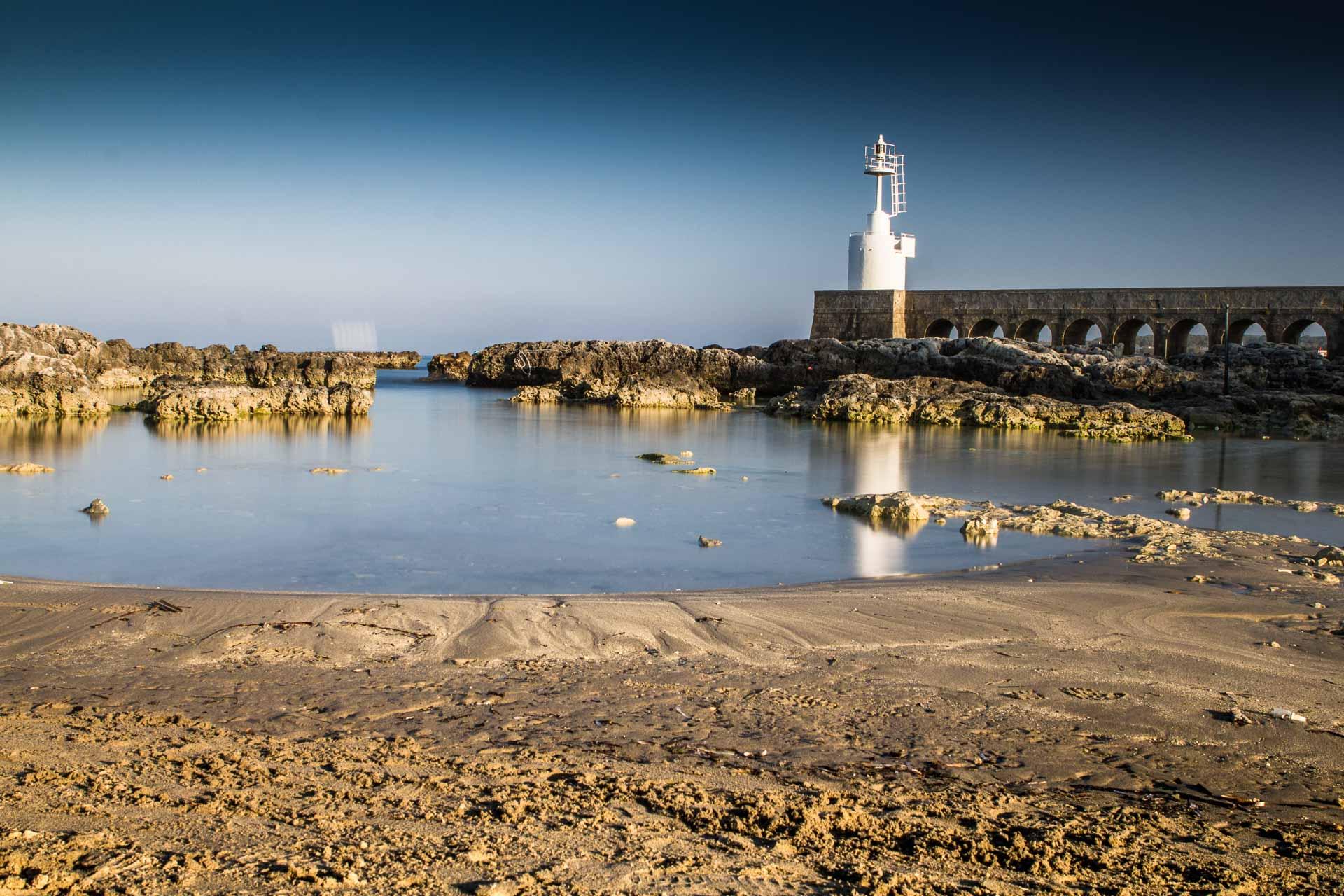 Otranto faro bianco - attraversare il tempo