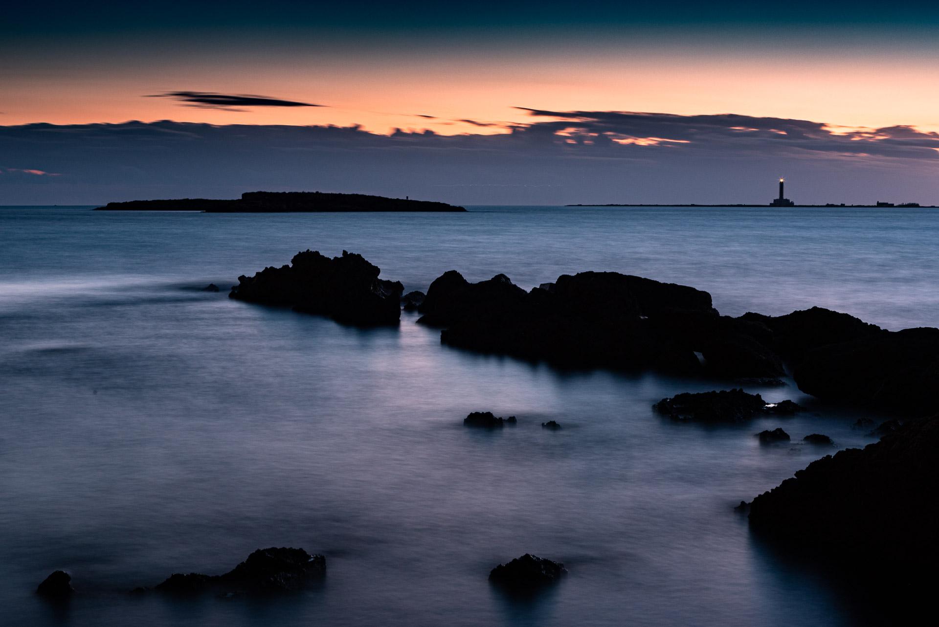 Gallipoli, seascape long exposure photography